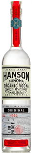Hanson Of Sonoma Vodka Organic Original Grape Based 750ml